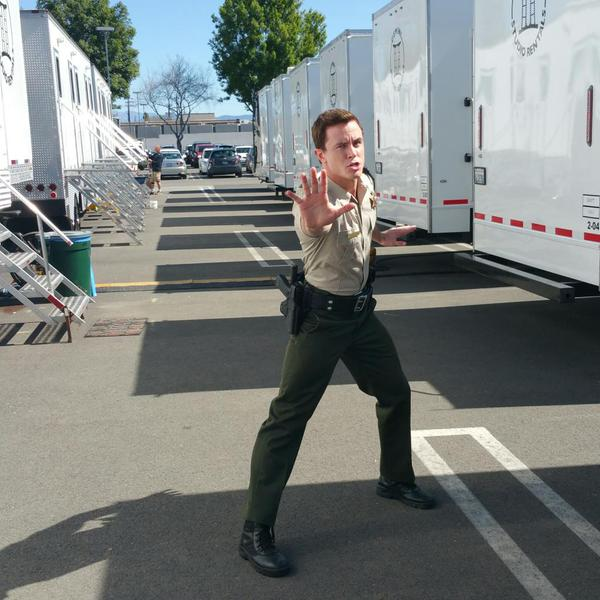 Teen Wolf Season 5 Behind the Scenes Ryan Kelley Teen Wolf HQ base camp 022515
