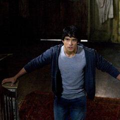 Scott in Derek's house during Pack Mentality