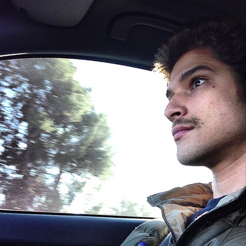 File:Teen Wolf Season 3 Behind the Scenes Tyler Posey Holiday Mustache.png