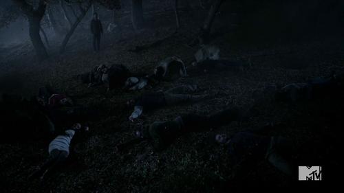 Teen Wolf Season 4 Episode 6 Orphaned feild of dead bodies