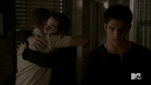 Teen Wolf Season 3 Episode 23 Insatiable Sheriff and Stiles Reunite.png