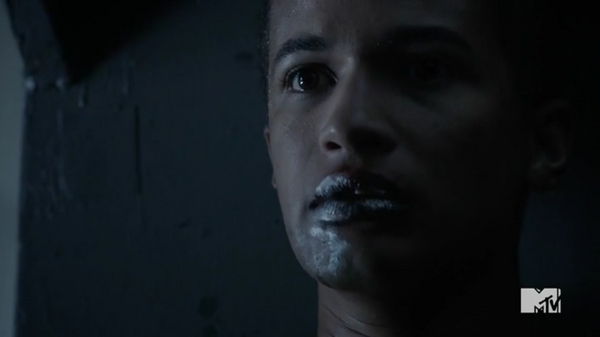 Teen Wolf Season 5 Episode 11 The Last Chimera Noah oozing Mercury