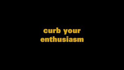 Curbyourenthusiasm