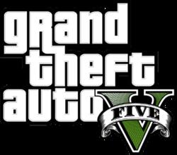 250px-Grand Theft Auto V logo - transparent background