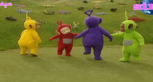 Teletubbies swinging dance