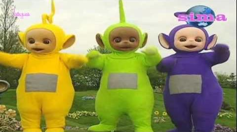 Teletubbies- Basketball