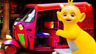 Teletubbies Rickshaw 352 Cartoons for Children