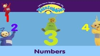 Let's Learn English With The Teletubbies! - Numbers (2006)
