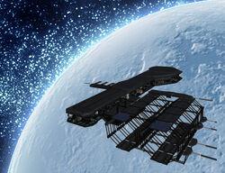 Orbital Relay Station