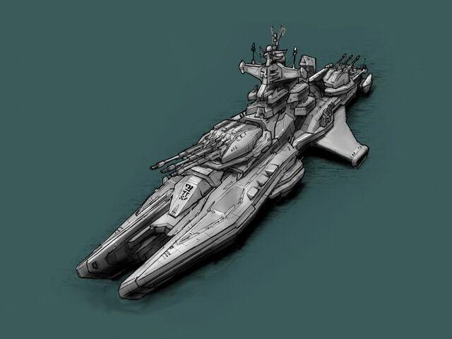 File:Mikaru-class Naval Destroyer.jpg