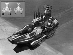 RX-100 Amphibious Assault Vehicle