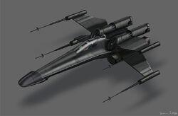 Twilight Jedi T65 XJ7 X-Wing