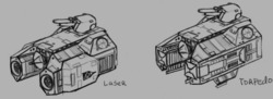 Mining Cruiser Weapon Pods