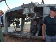 Terminator Salvation- Adam Hart doubling Christian Bale