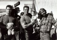 T2- Peter Kent with Arnold and Cameron