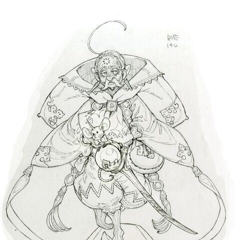 Sorman (Job 2) concept art