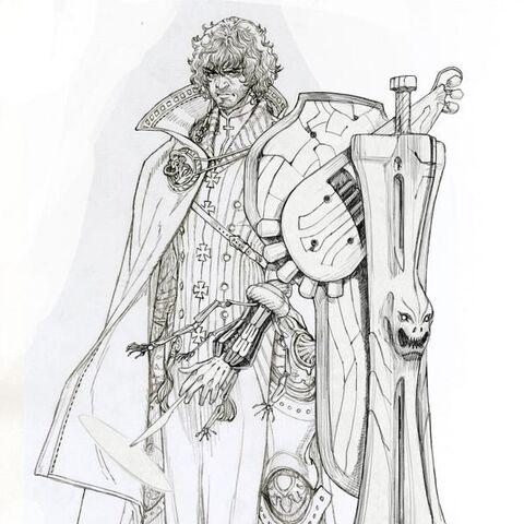 Ellvern (Job 3) concept art