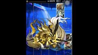 Terra Battle -no ice no capsule kill Leviathan!