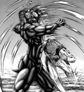 Marcos hitting the Terraformar