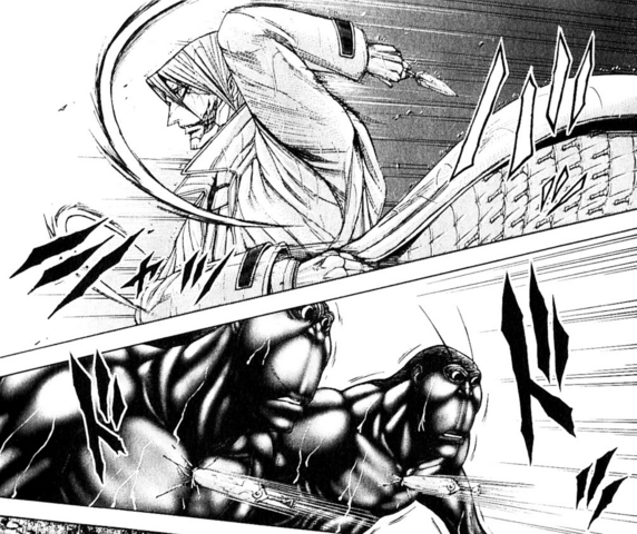 File:Adolf throwing his knives at the Terraformars.png