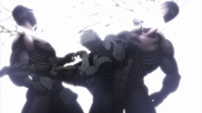 Thien killing 2 Terraformars with a kick