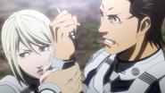 Maria stopping Shokichi