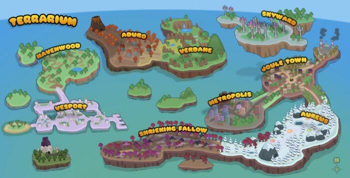 Terrarium Worldmap