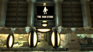 Rob Store Sign