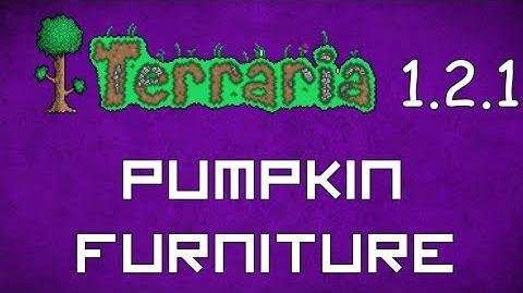 Pumpkin Furniture - Terraria 1.2