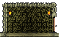 Bone Block Wall-placed
