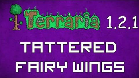 Tattered Fairy Wings - Terraria 1.2