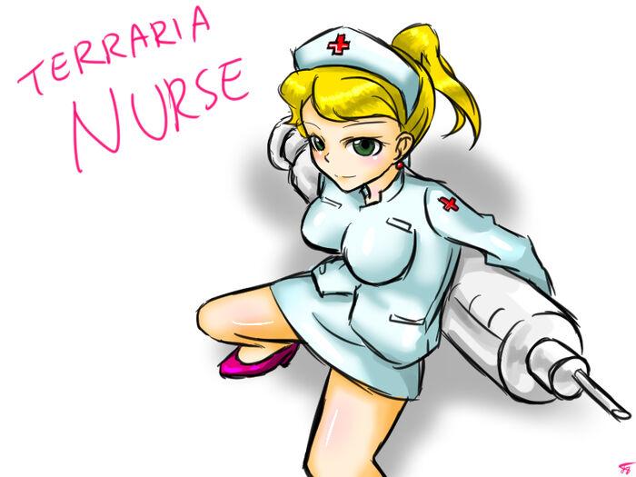 Nurse by ajidot-d8nw43l