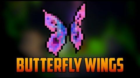 Terraria - Butterfly Wings from Moth Rare Mob
