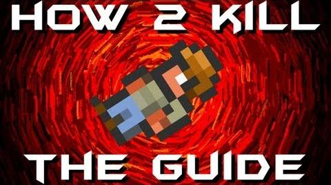 Terraria - How to KILL THE GUIDE