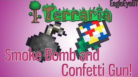 Terraria Smoke Bomb and Confetti Gun Best items in the game! Help and Howto!