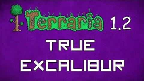 True Excalibur - Terraria 1