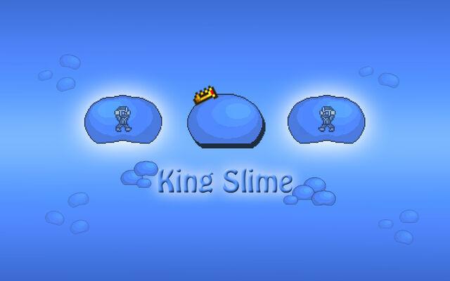 File:Tiamou Terraria Fan Art King Slime Wallpaper.jpg