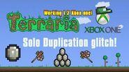 Xbox One Terraria Solo Duplication Glitch
