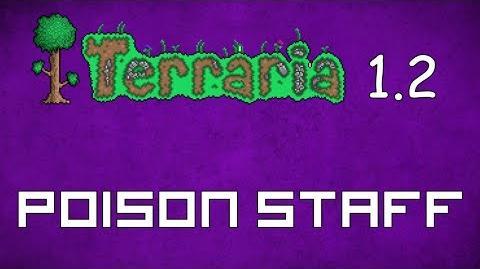 Poison Staff - Terraria 1