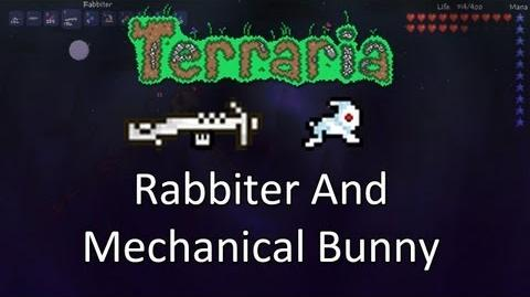 Terraria Obsidian Mod — Rabbiter And Mechanical Rabbit!