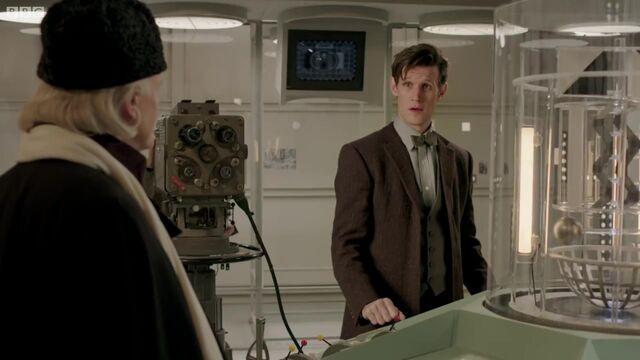 File:BBC Test Card C in Doctor Who - An Adventure in Space and Time.jpg