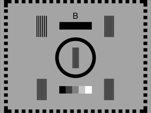 BBC Test Card B