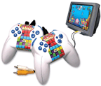 PlayTV Legends Family Tetris Gamepad Controllers