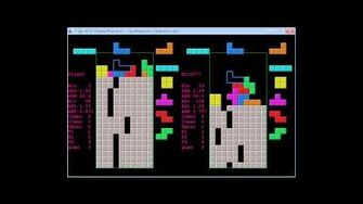 Misaka's Multiplayer Tetris AI - Level 7