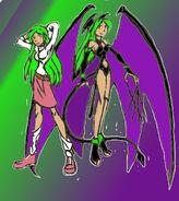 Lilith A. Morrigan, the Succubus Cutie
