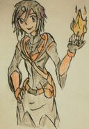 Courtney the fire wiccan by stoneman85-d5x2rp0