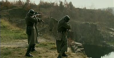 German forces Invadeing Michigan