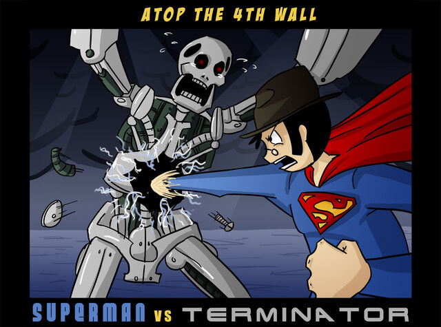 File:AT4W Superman VS Terminator by Masterthecreater.jpg