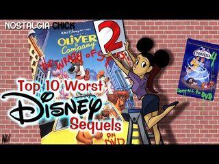 Worst disney sequels nch