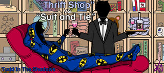 Thrift Shop vs Suit and Tie by krin